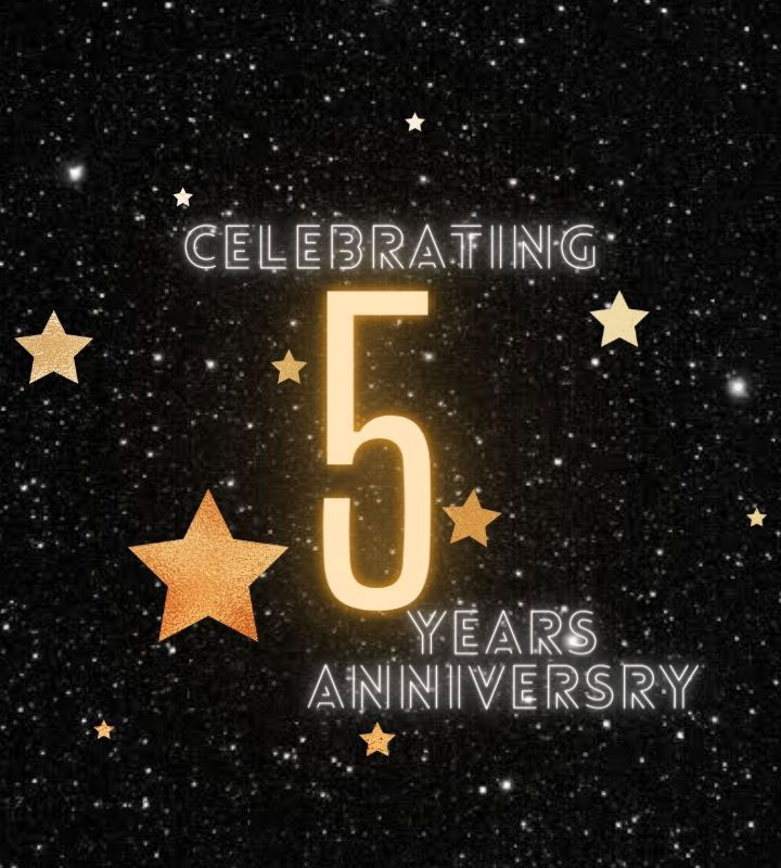 Celebrating the Completion of 5 Years of Cosmetics Arena