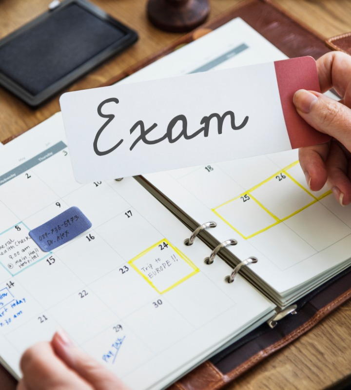 Create a Revision Schedule to Manage the Stress during Exams