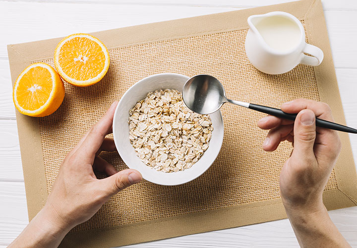 Nourishing Lip Scrub Recipe Rich in Oats, Milk, and Orange EO