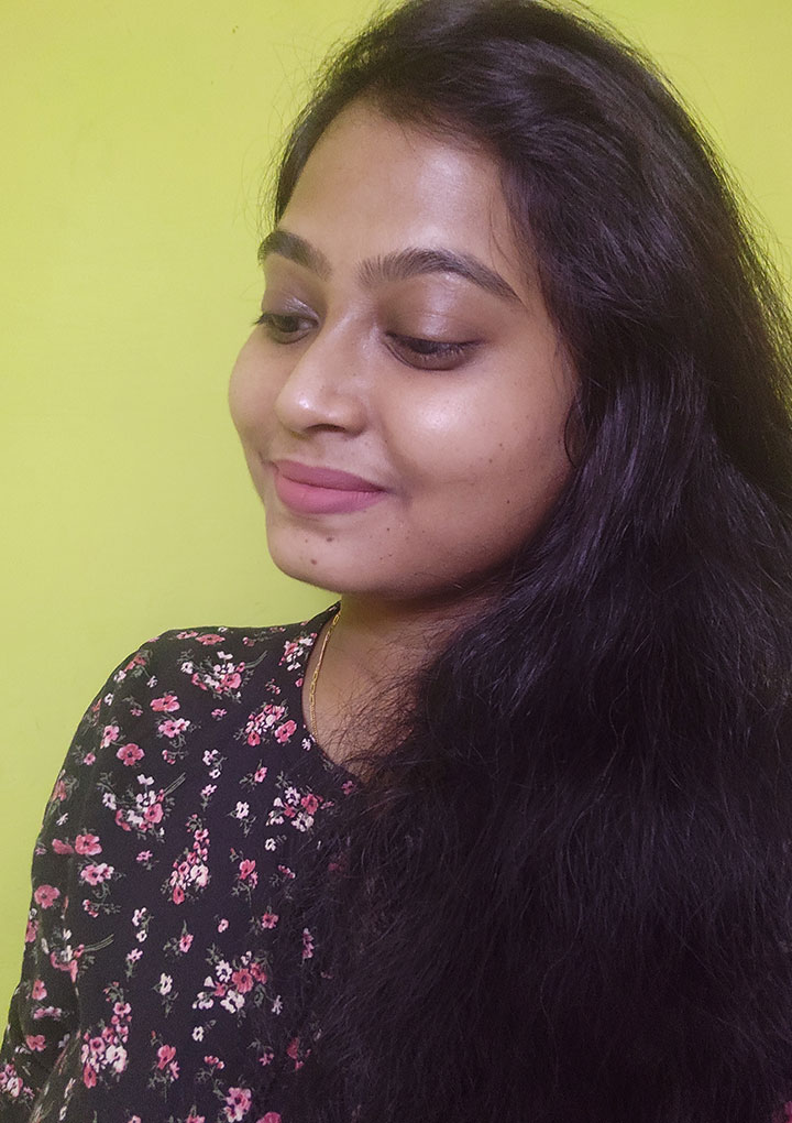 Swatch of Nykaa All Day Matte Liquid Lipstick Soul Sister