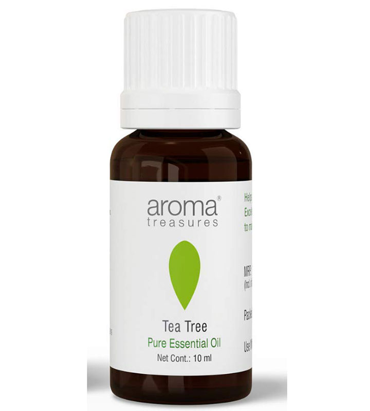 aroma treasures tea tree essential oil One of the Products I would Buy during the Great Indian Festival